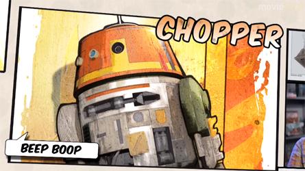 Primer vistazo a un droide de Star Wars Rebels