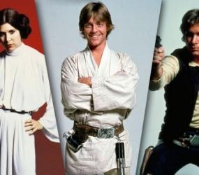 Carrie Fisher, Mark Hamill y Harrison Ford ya están en Londres