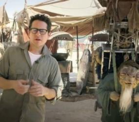 Vídeo de J.J. Abrams desde el rodaje para impulsar causa benéfica