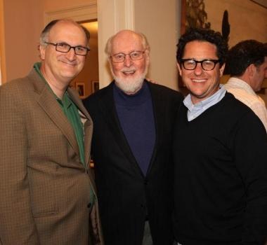 Primera foto oficial de J.J. Abrams y John Williams juntos