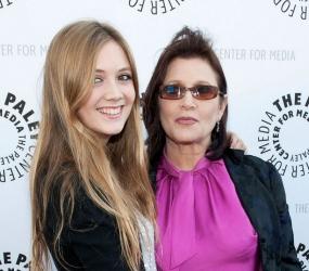 Rumor sobre la hija de Carrie Fisher en el EpisodioVII