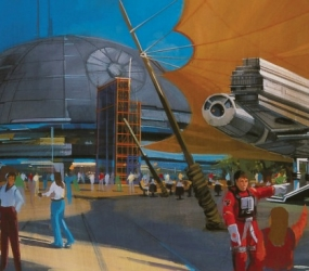 "Disney abrirá ""Star Wars Land"""